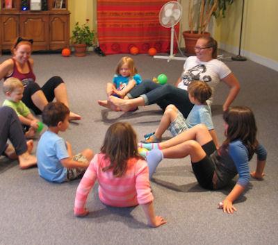 sacramento yoga center / family yoga / childrens yoga